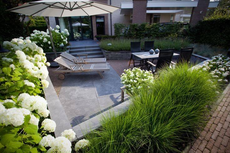 Patio szansa na ziele w mie cie agata bia y architekt krak w for Gartenbepflanzung modern